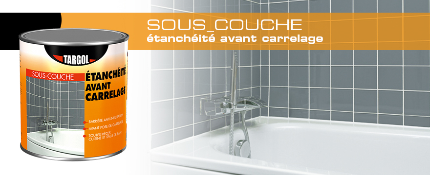 sous couche tanch it avant carrelage